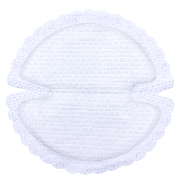 Flower Shape Biodegradable Breast Pads