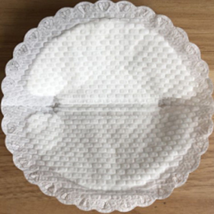 Shell Shape Biodegradable Breast Pads